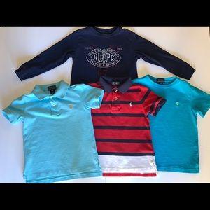Polo Ralph Lauren toddler boys shirts👕 size 4T